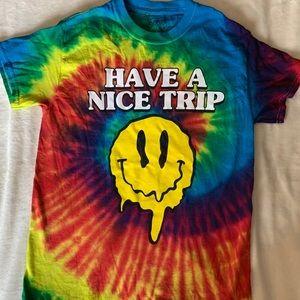 Spencer's Nice Trip Tie Dye Shirt